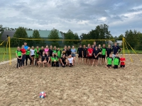 Beach clinic groot succes!